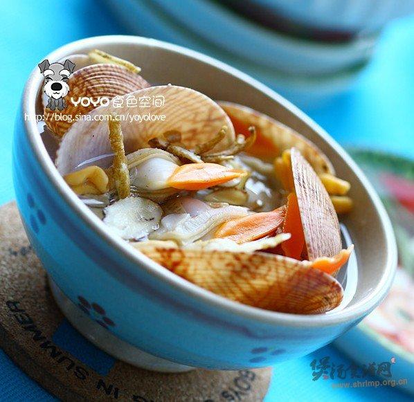 桂花萝卜虾汤的做法
