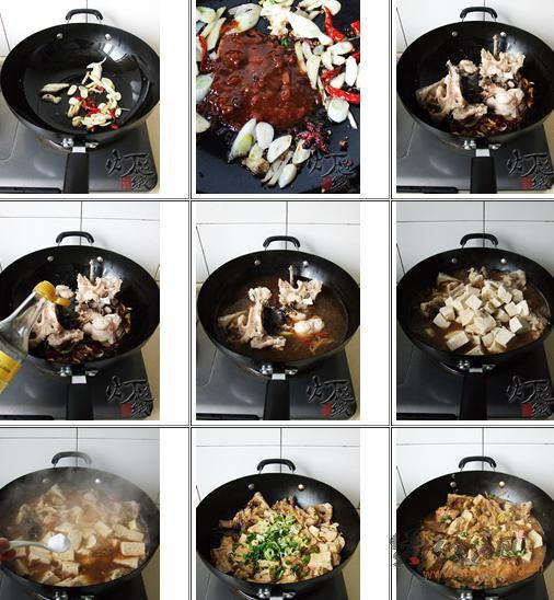 鮟鱇鱼炖豆腐的做法