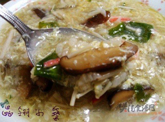 菌菇海味粥的做法