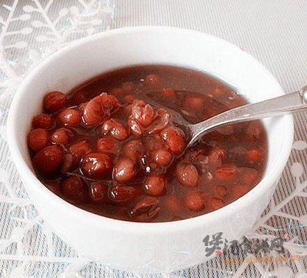 桂花小豆粥的做法