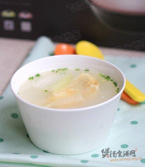 蛋饺冬瓜汤的做法