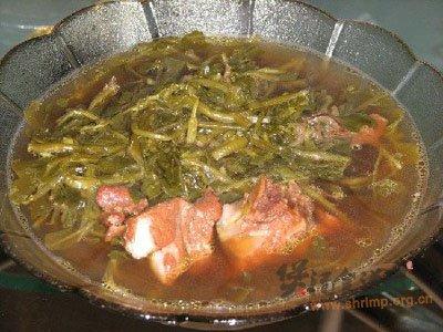 西洋菜瘦肉汤的做法