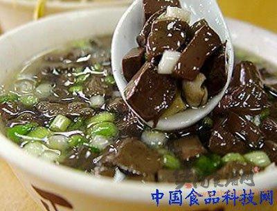 海参鸭血汤的做法