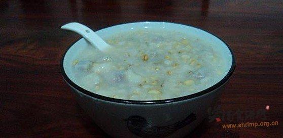 香芋杂粮粥的做法