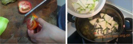 葫芦番茄榨菜汤的做法