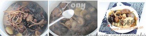 养生排骨菌汤的做法