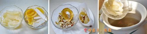 竹荪葛根海底椰清热消脂利湿汤的做法