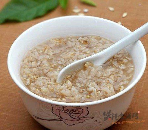 灵芝糯米粥的做法