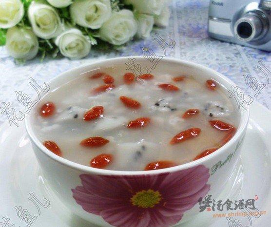 仿火龙果大米粥的做法