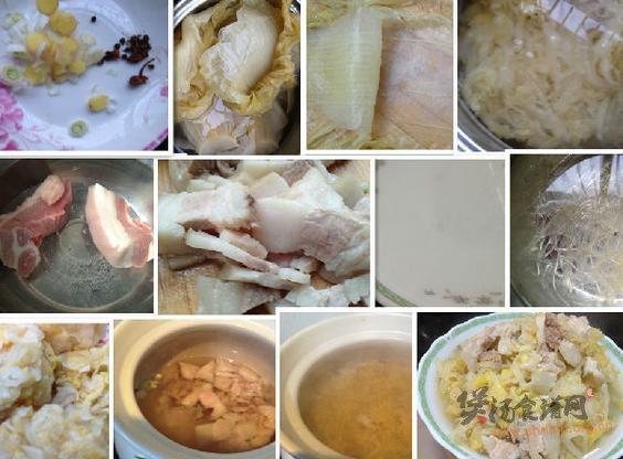 炖川白菜的做法