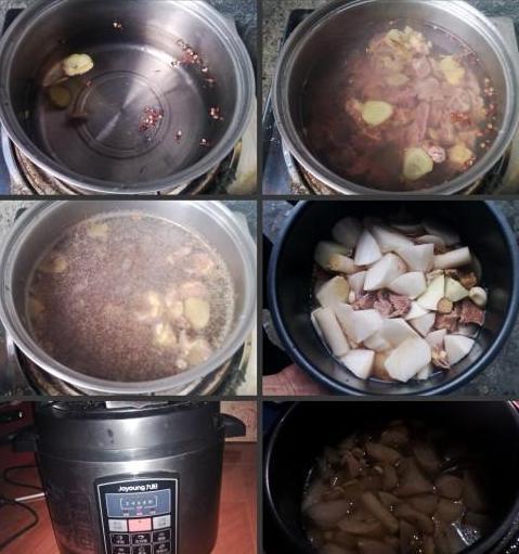 萝卜雪豆炖牦牛肉的做法