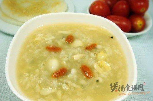 薏米百合莲子粥的做法