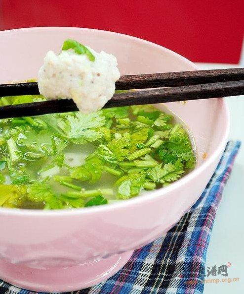 清水鱼丸汤的做法