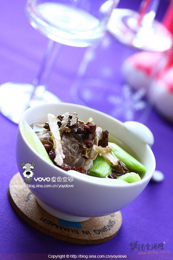 五味子川芎牛肉汤的做法