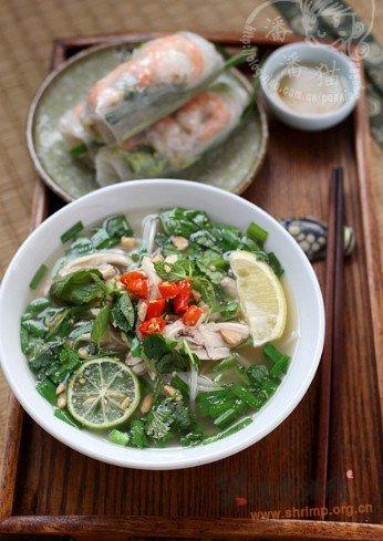 越南汤粉的做法