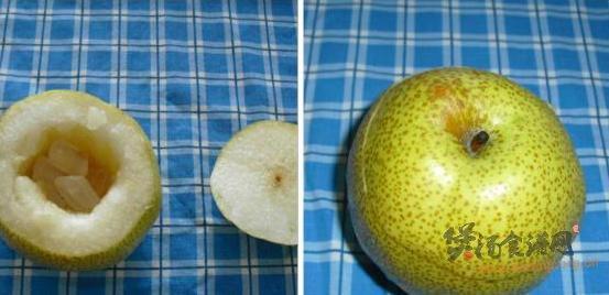 川贝炖梨的做法