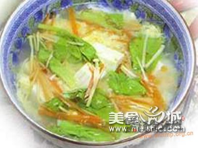 黄瓜豆腐汤的做法