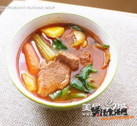 开胃暖身汤罗宋汤的做法
