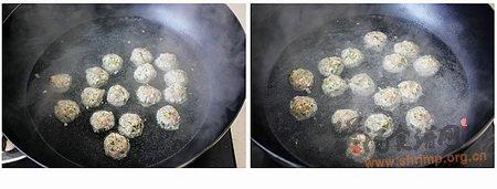 椿香豆腐丸子的做法