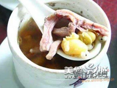 猪小肚白果汤的做法