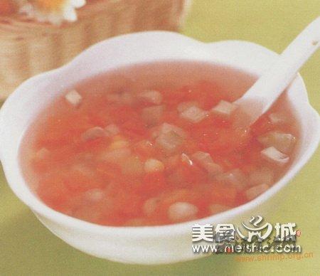 蘑菇鲜素汤的做法