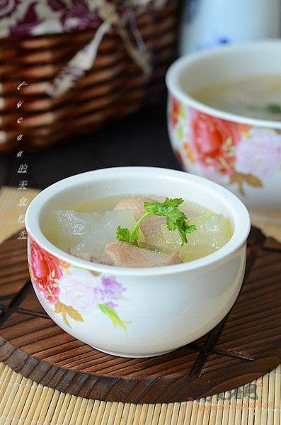 冬瓜煲鸭汤的做法