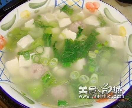火腿芥菜汤的做法