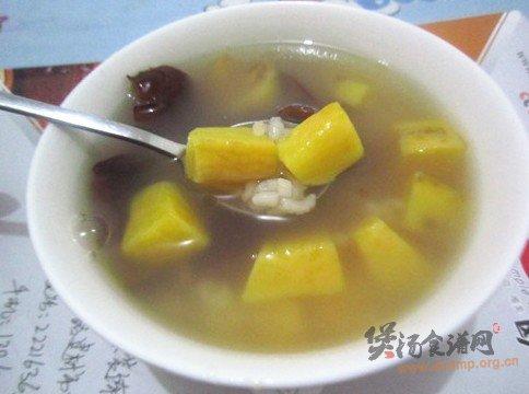 地瓜蜜枣粥的做法