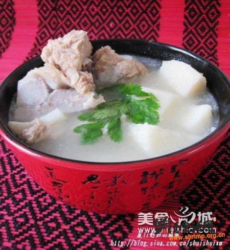 (图)山药排骨汤的做法