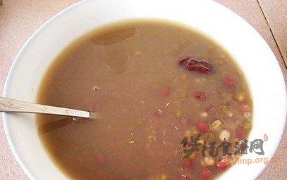红枣豆子粥的做法