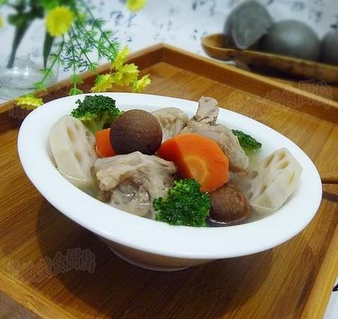 什锦脆骨汤的做法