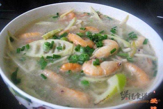 鲥虾竹笋豌豆汤的做法