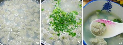 鱼丸子汤的做法