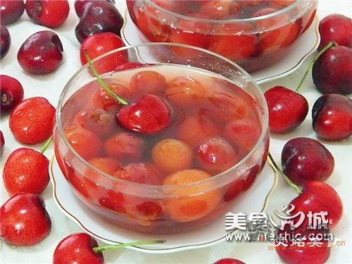 樱桃甜汤的做法