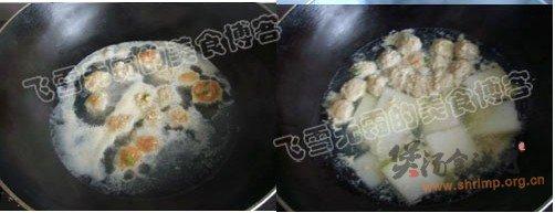 肉圆冬瓜汤的做法