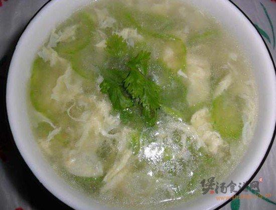 丝瓜蛋花汤的做法