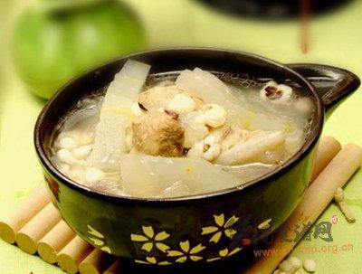 冬瓜肋骨汤的做法