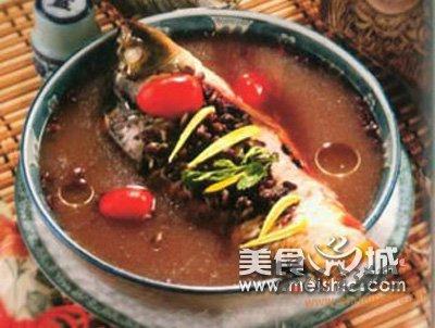 (2)赤小豆鲤鱼汤的做法