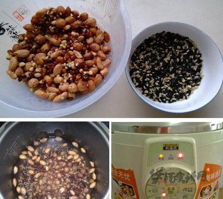 红豆杂粮粥的做法