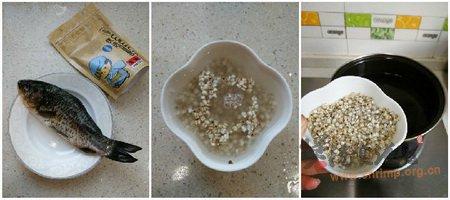 薏米鲫鱼汤的做法