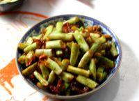 香肠四季豆的做法