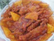 香波锅包肉的做法