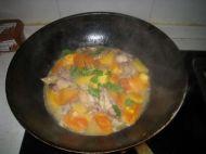 木瓜焖鸡的做法
