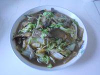 白菜炖蘑菇的做法
