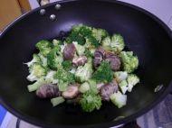 干贝香菇西兰花的做法