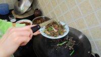 腊炒干豆角的做法